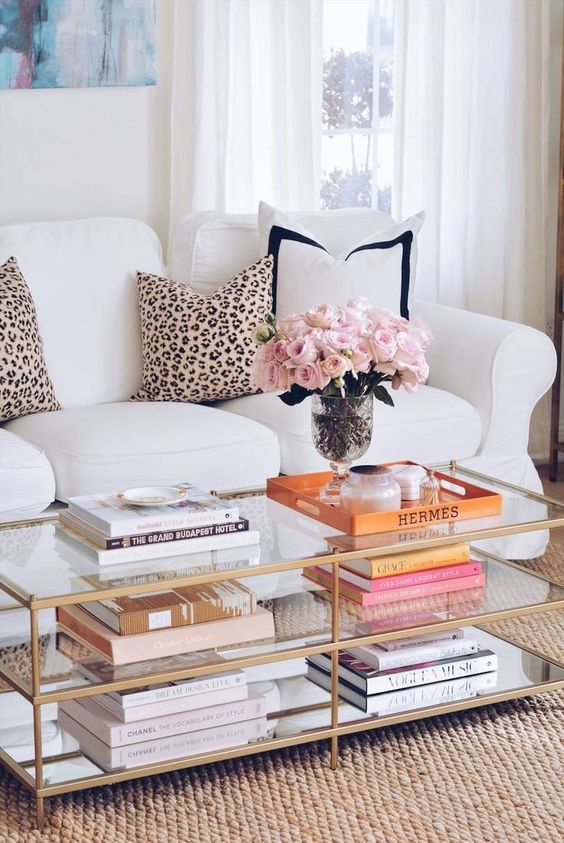 How To Style A Coffee Table The Style Index