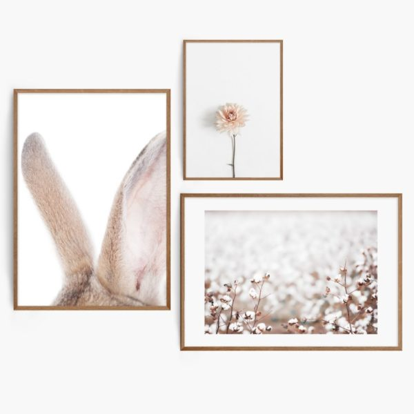 Soft Natural Set Free Prints
