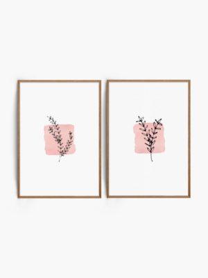 Vintage Floral Set Free Prints