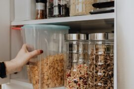 If your pantry is bursting at the seams, food fall outs when you open the door or you simply can't find a thing, then it's definitely time to organise your pantry!