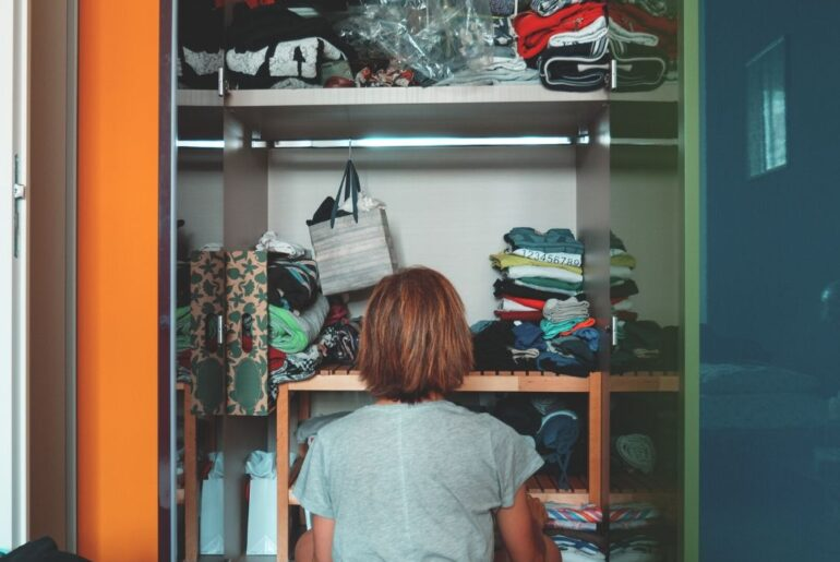 How to maximise your small closet